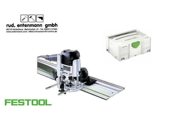 Festool Oberfräse OF 1010 EBQ FS 800 2 Set 574375