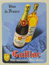GAILLAC- VIN - AFFICHE ORIGINALE