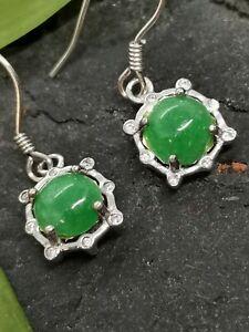 Green-Burmese-Jadeite-Jade-Ear-Ring