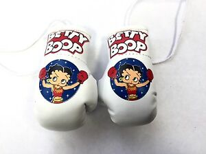 Betty Boop Mini Boxing Gloves In Pixie Outfit Highly collectible