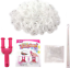 TOOL Loom Bands 600 Rubber Bands Loom Band S Clips  White Black UK Craft wave