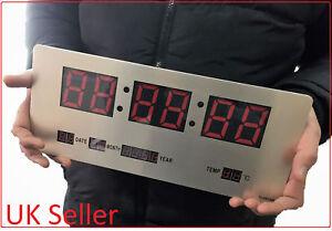 Large-Digital-LED-Slim-Wall-Desk-Alarm-Clock-TL-3515A-Hall-Office-Exam-Gym-Home