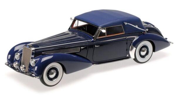 Delage D8-120 Cabriolet (Dark bluee  bluee) 1939