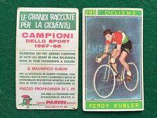 CAMPIONI DELLO SPORT 1967-68 n.285 KUBLER CICLISMO Figurina Sticker Panini (NEW)