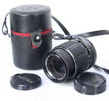 Vintage SMC PENTAX-M 3.5f 135mm Lens. K Mount. Case & Caps. Great Condition
