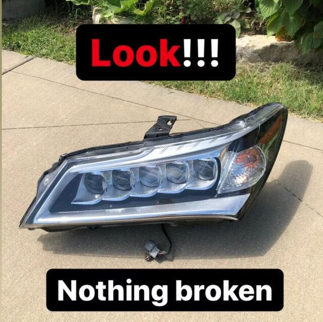 2014 2015 2016 Acura MDX Driver Side LED Headlight OEM