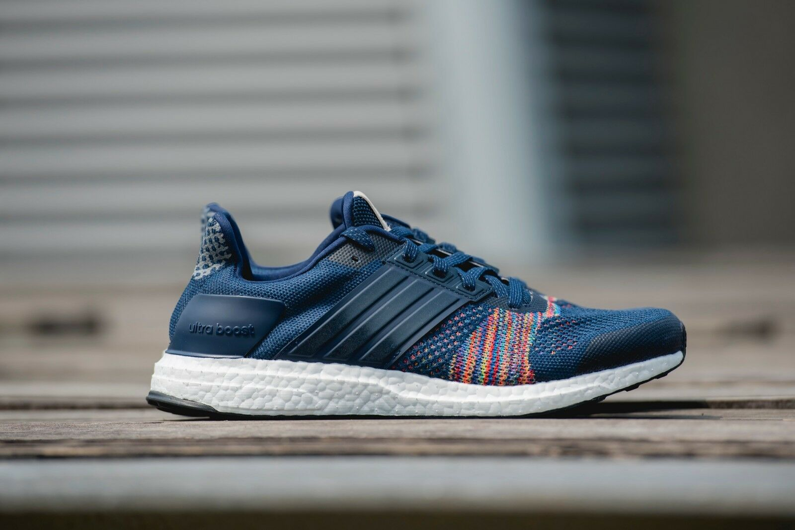 ADIDAS AQ5557 ULTRABOOST NAVY LIMITED EDITION NAVY ULTRABOOST RAINBOWTaille 7 2ea6fd