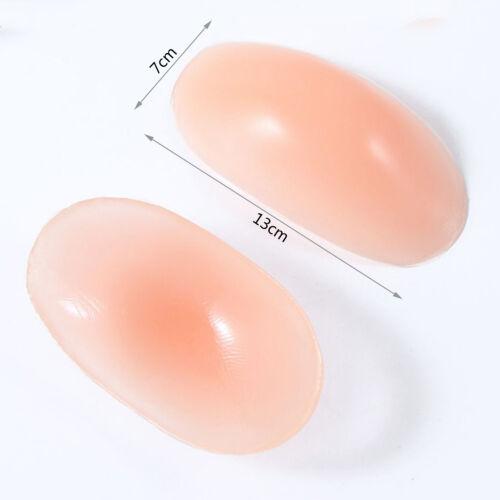 1 Pair Women Self Adhesive Soft Silicone Push-up Shoulder Enhancer Pads