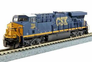 Kato-N-Scale-ES44AC-Locomotive-CSX-Transportation-700-DC-DCC-Ready-1768928