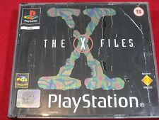 THE X FILES PLAYSTATION 1 THE X FILES PS1 PSONE PS2 PS3