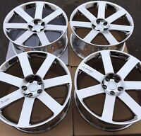 Set Of Four 4 20 9 Wheels Rims For Chrysler 300 300c 300s Srt-8 Pvd Chrome