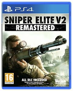 Sniper Elite V2 Remastered Sony Playstation PS4 Game 16+ Years