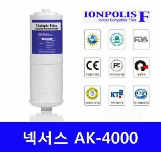 Ion Polis Nexus AK-4000 Replacement Filter  Water Ionizer Health_AC