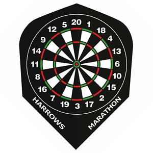 Dart Flights HARROWS MARATHON Standard Shape EXTRA STRONG Dart Board