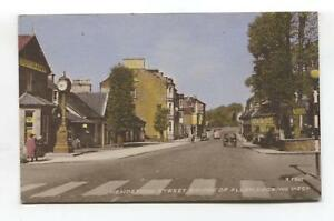 Bridge-of-Allan-Henderson-Street-Westerton-Arms-pub-c1950-039-s-postcard
