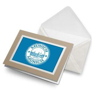 Greetings-Card-Biege-Munich-Germany-Bavaria-Europe-EU-4584