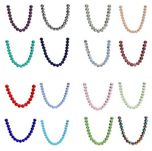 Wholesale-8mm-Crystal-Glass-Faceted-Ball-Loose-Spacer-Beads-Jewelry-Finding-Bead