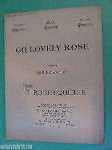 edmund waller go lovely rose