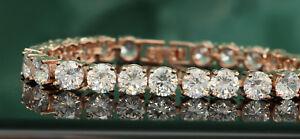 5ct-14K-Yellow-Gold-Finish-Diamond-Women-039-s-Bracelet-Bangles-Tennis-Bracelet-7-5-034