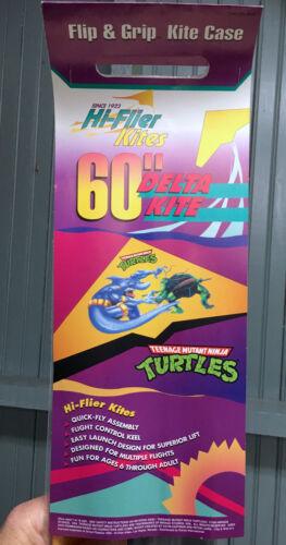 """VTG 60/"""" HUGE Hi-Flier Delta Teenage Mutant Ninja Turtles Kite 1995 New in Pack"""