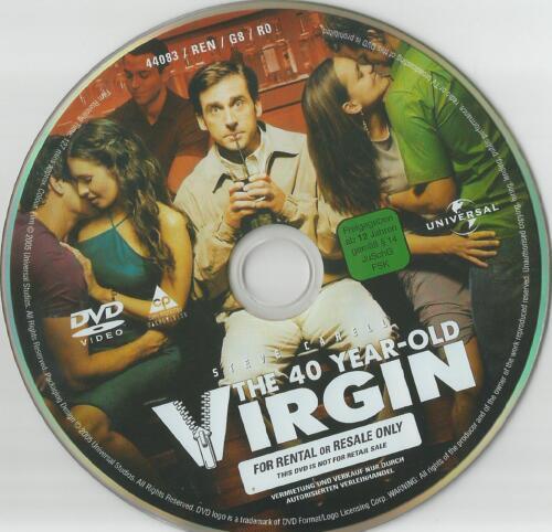 1 von 1 - Jungfrau (40), männlich, sucht... - XXL-Version - DVD - ohne Cover #m51