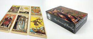 X78-Tarot-Cards-Deck-Old-Vintage-Rider-Original-style-Smith-A-E-Waite-artwork