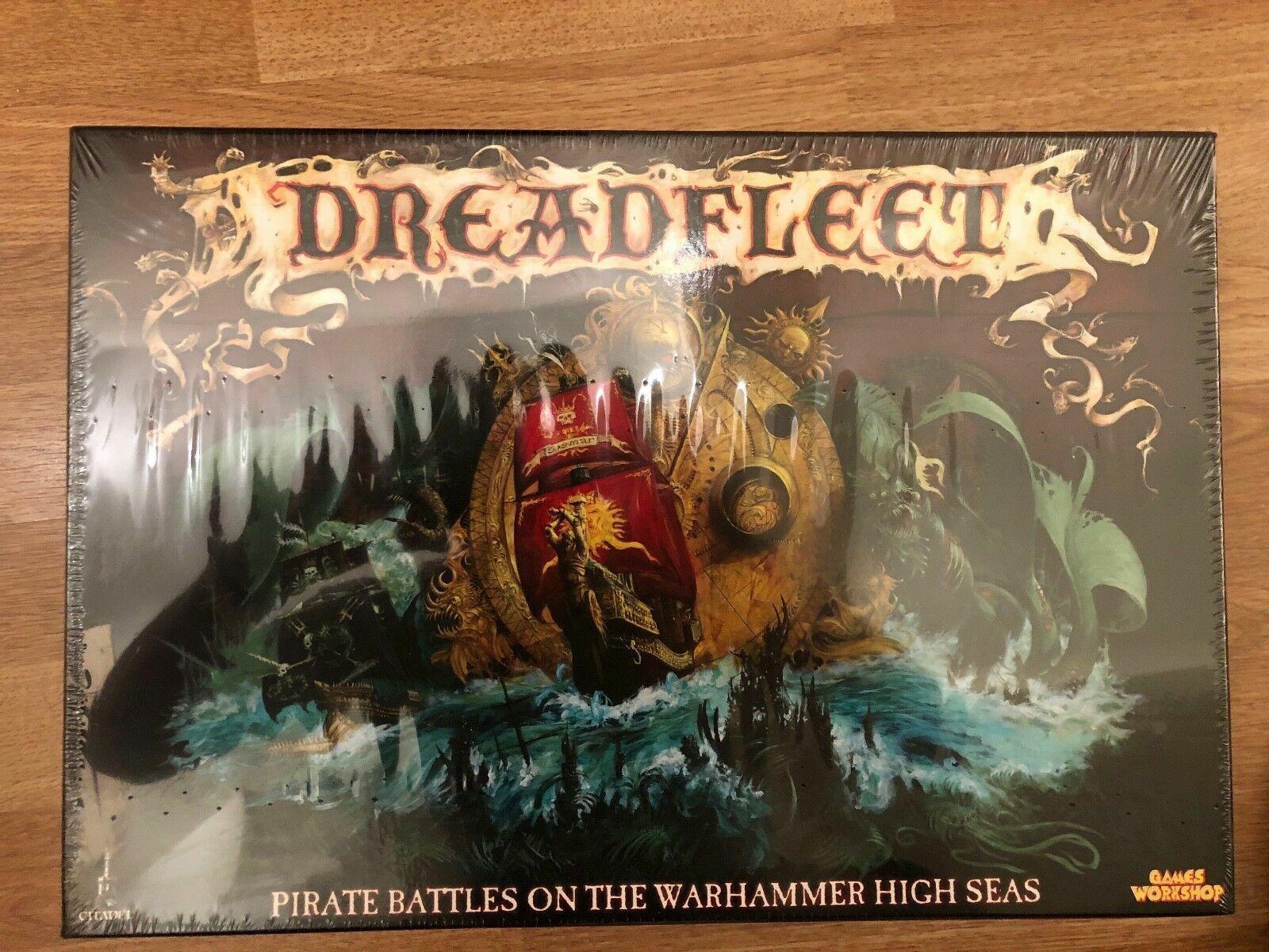 Games Workshop Dreadfleet New Sealed BNIB Boxed Game Citadel Man Man Man o War OOP GW 25f296