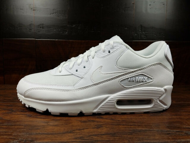 the latest 15d32 dc5a9 Nike Air Max 90 Essential AM90 (White)  537384-111  Mens 8
