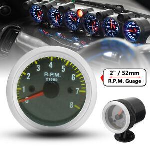 2-039-039-52MM-LED-TACHIMETRO-CONTAGIRI-ANALOGICO-PER-AUTO-TUNING-STRUMENTAZIONE-NERO