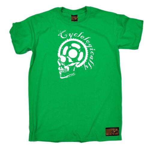 CICLISMO T-shirt Divertenti Novità T-Shirt Maglietta da uomo-cyclelogically