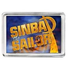 Sinbad The Sailor. The Pantomime. Fridge Magnet.