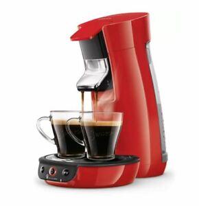 PHILIPS SENSEO Viva Café HD6563/83 Cafetière à dosettes Crema Plus rouge