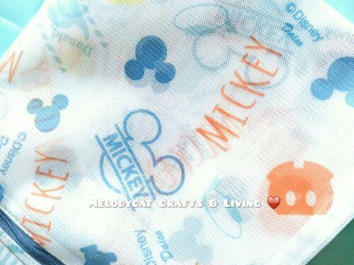 LARGE Japanese Laundry Bag Washing Net 50x 35cm Mickey Mouse Donald Duck DISNEY