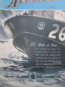 11-1945 PUB BPB BRITISH POWER BOAT CRAFT RESCUE LAUNCHES ORIGINAL AD AYk5qpsx-08063125-336070019