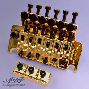 Authentic-FLOYD-ROSE-SPECIAL-Complet-Set-LockNut-Tremolo-Arm-GLOD