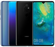 "Huawei Mate 20 HMA-L29 128GB (FACTORY UNLOCKED) 6.53"" Blue, Twilight, Black"