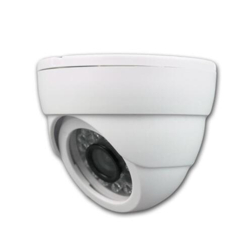 "Kamera Dome mit 6,35mm 1//4/"" Sharp CCD IR BNC Sensor 24 LEDs Überwachungskamera"