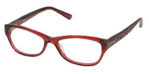 19c4cc9950 Image is loading NEW-GUESS-2376-53F18-Red-Bordeaux-53mm-Eyeglasses