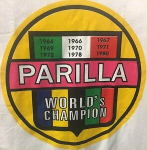 Vintage-Kart-racing-Tee-Shirt-PARILLA