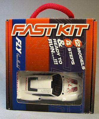 88236 FLY CAR MODELS 1//32 SLOT CARS FAST KIT  PORSCHE 911 GT1 EVO SILVERSTONE