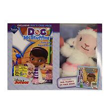 Disney Junior Doc Mcstuffins - Docs Care Pack (Plush + Book + DVD) Bundle Kid