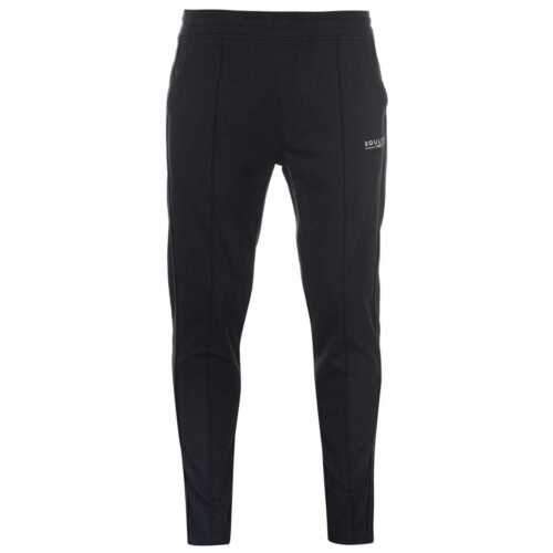 SoulCal Deluxe Pintuck Jogging Pants Mens Gents Jersey Bottoms Trousers