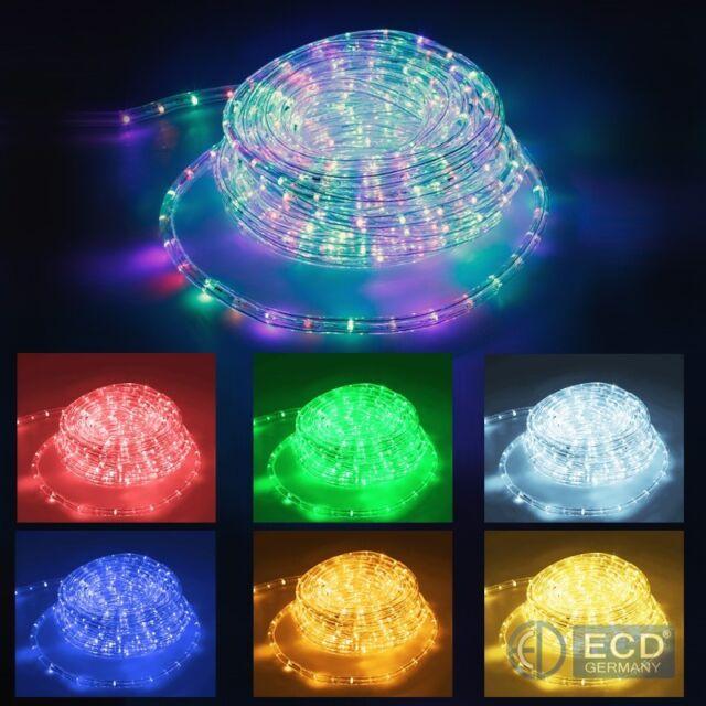 LED Lichtschlauch Lichterschlauch Lichterkette Innen Schlauch Leiste IP20