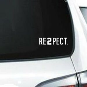 A160 Respect Re2pect Derek Jeter Number Sports  vinyl decal car truck van suv Home, Furniture & DIY Wall Decals & Stickers