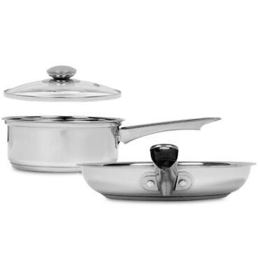 Sedona Stainless Steel 2-Quart Saucepan with Lid & 10