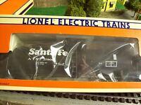 Lionel O Trains Santa Fe Uni-body Tank Car 6-17900