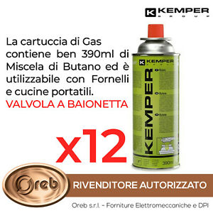 BOMBOLETTA-CARTUCCIA-GAS-KEMPER-577-BUTANO-390-ML-227-GR-FORNELLO-CAMPEGGIO-12x