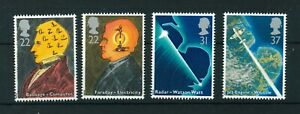 GB-1991-Scientific-Achievments-full-of-stamps-Mint-Sg-1531-1535