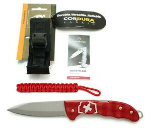 Victorinox-Hunter-Por-Alox-grosses-Taschenmesser-mit-Guertelholster-von-TT-NEU
