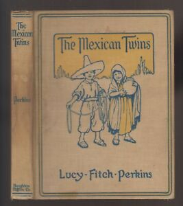 VG-1915-Hardcover-Edition-The-Mexican-Twins-by-Lucy-Fitch-Perkins